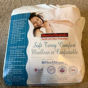 King Size Mattress Terry Pad/Protector
